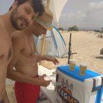 ברז בירה נייד לים
