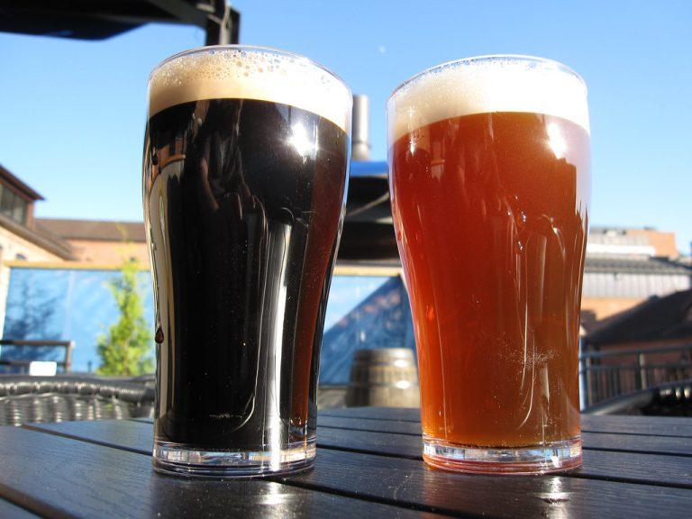 בירה בהירה ובירה כהה